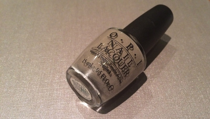 OPI French Quarter For Your Thoughts – Swatch and Review