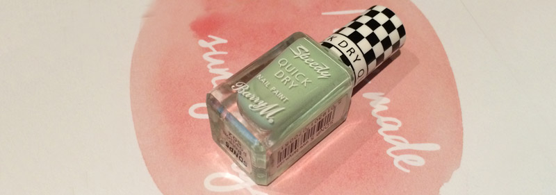 Barry M Speedy Quick Dry – Pole Position Review