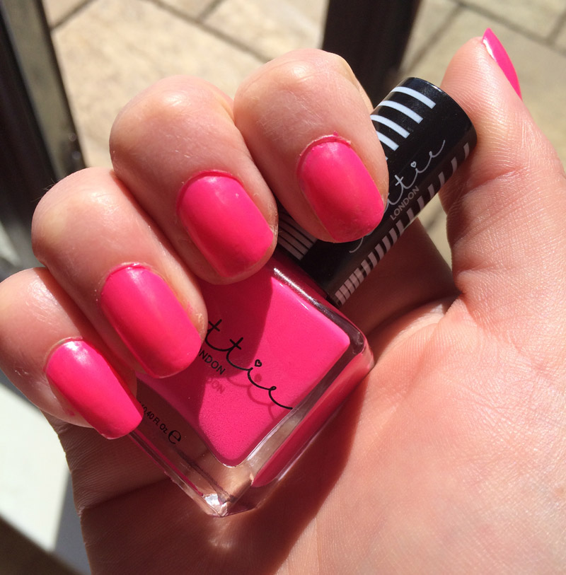 Lottie-london-spring-break-swatch-nail-polish-review