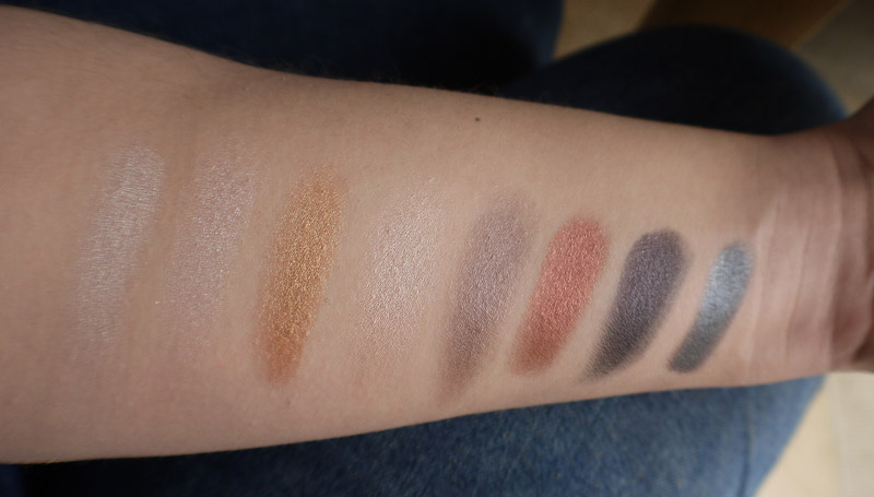 makeup-revolution-iconic-pro-1-shimmer-swatches