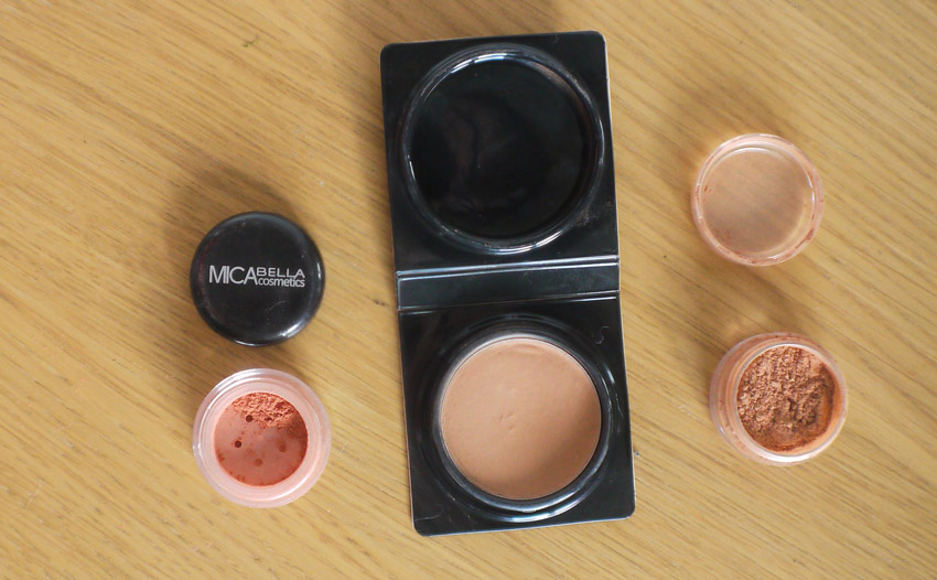 Left To Right: Micabella Siera Suede Too Faced Chocolate Bronzer BM Beauty Summer Warmth