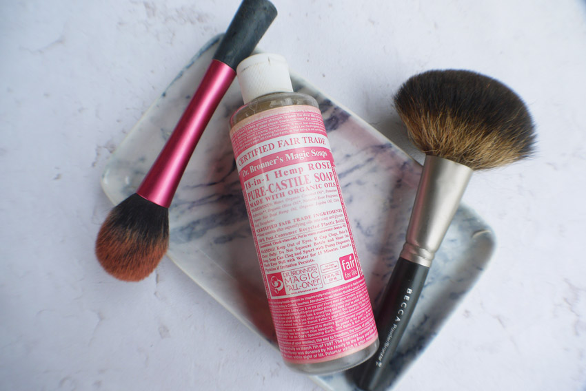 Real Techniques Brush Cleanser Vs Dr Bronners Magic Soap