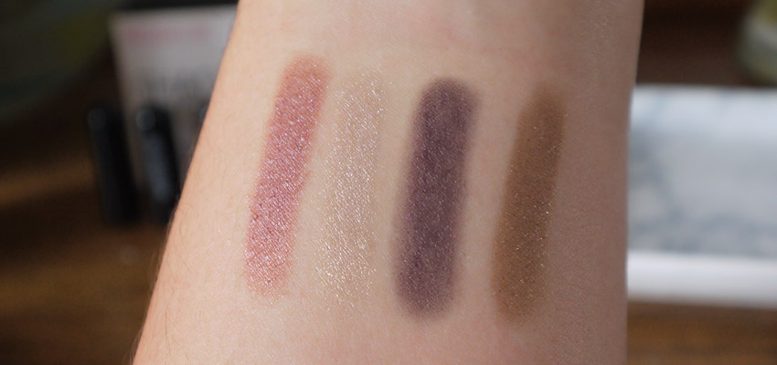 Left to right: Portofino, Costa Rica, Purple Haze, St Barts