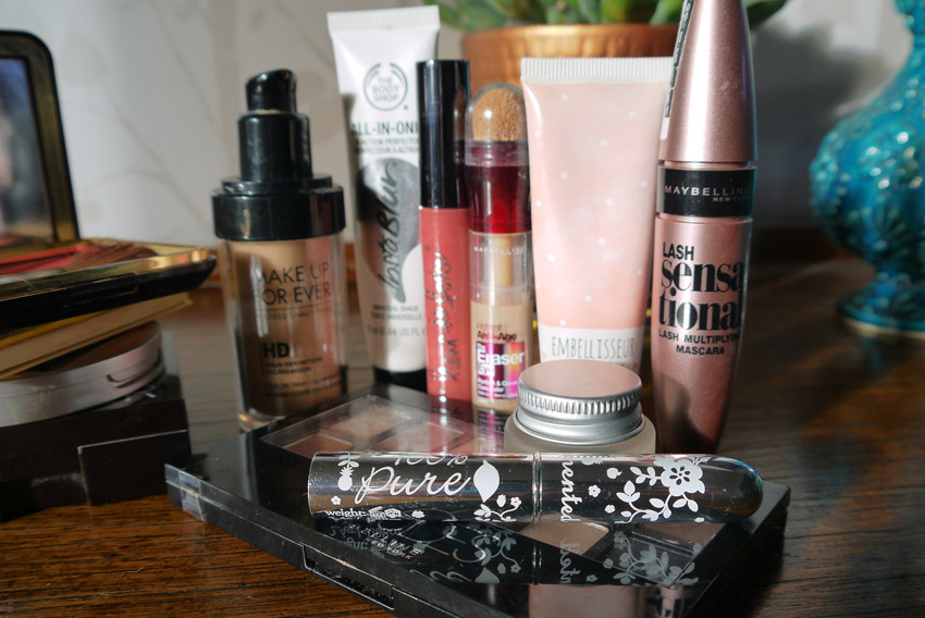 current-makeup-routine