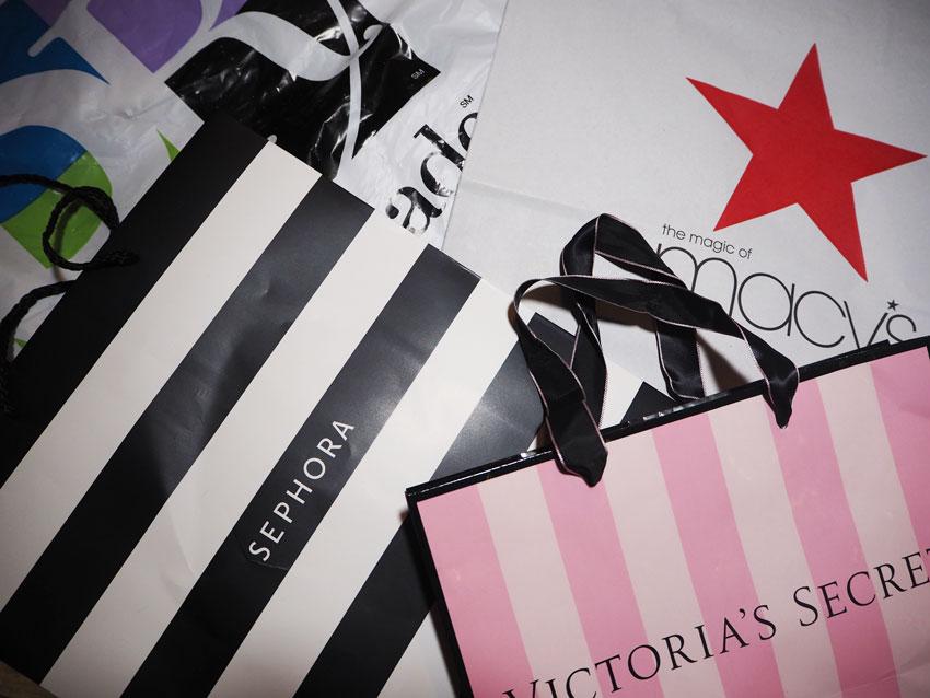 New York Haul – Duty Free, Macy's & Victoria's Secret