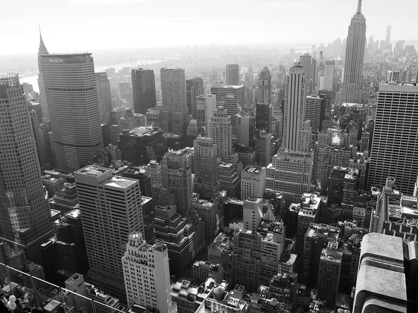 manhattan-black-and-white