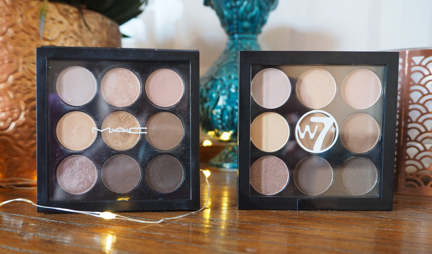 10 Times Cheaper: MAC Amber Times Nine Dupe from W7