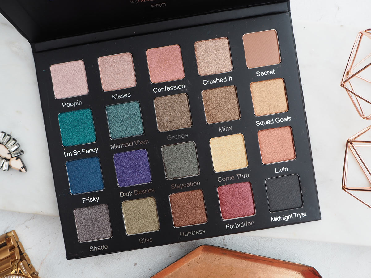 Violet Voss Drenched Metals Eyeshadow Palette