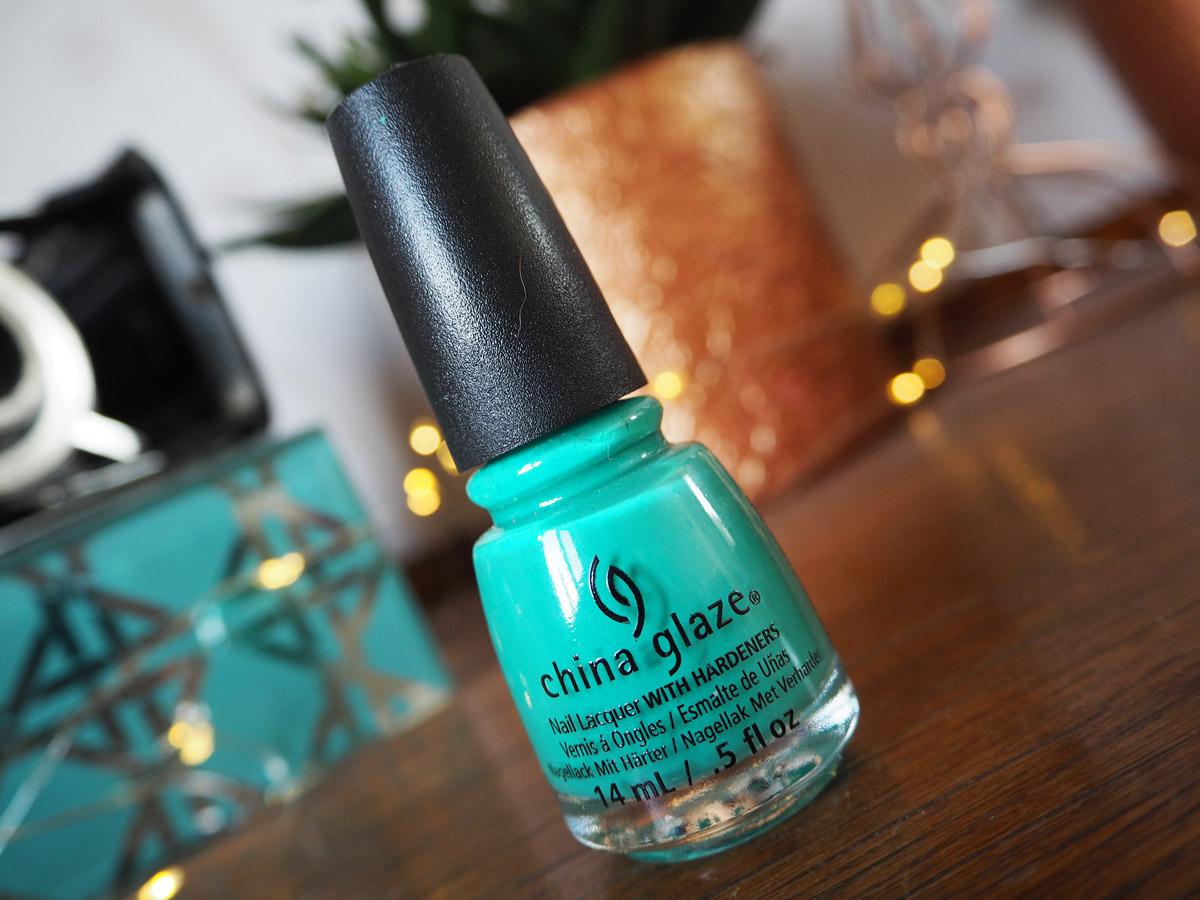 China Glaze Turned Up Turquoise