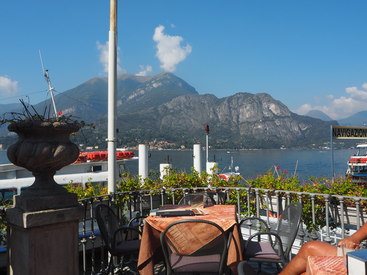 Terrace Metropole View of Lake Como