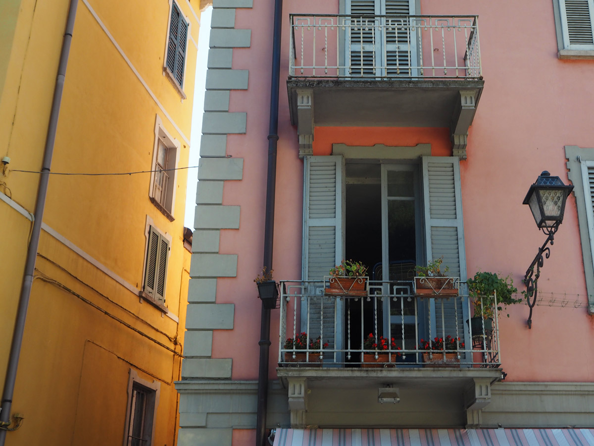 Most Homes in Bellagio had Terraces/Balconies