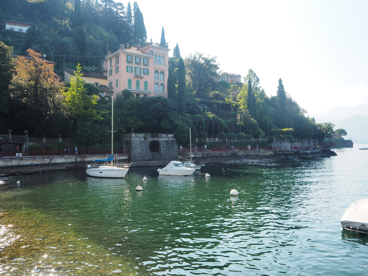 The Little Dock in Varenna - Lake Como