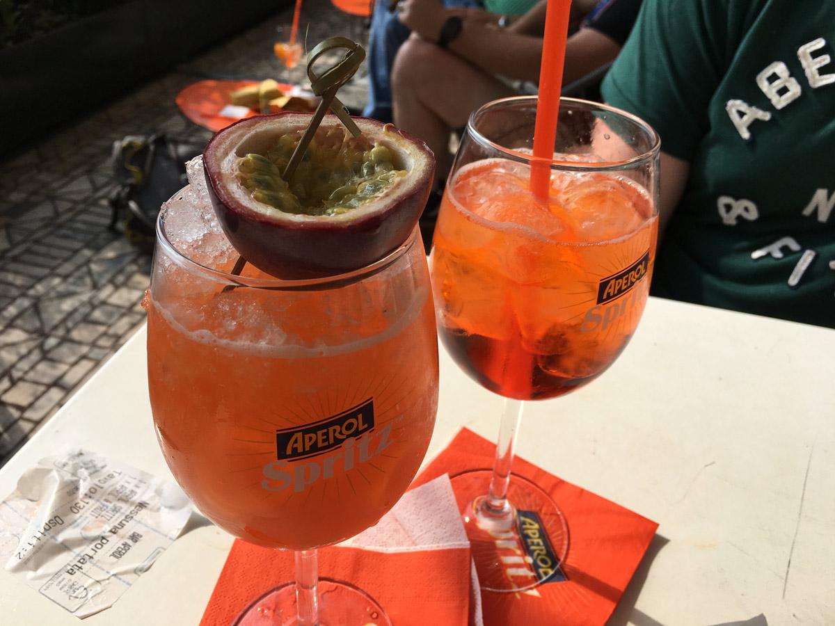 Aperol Bar Drinks - Milan