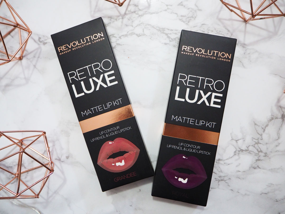 superdrug-haul-revolution-retro-matte-lip-kits-january-2017