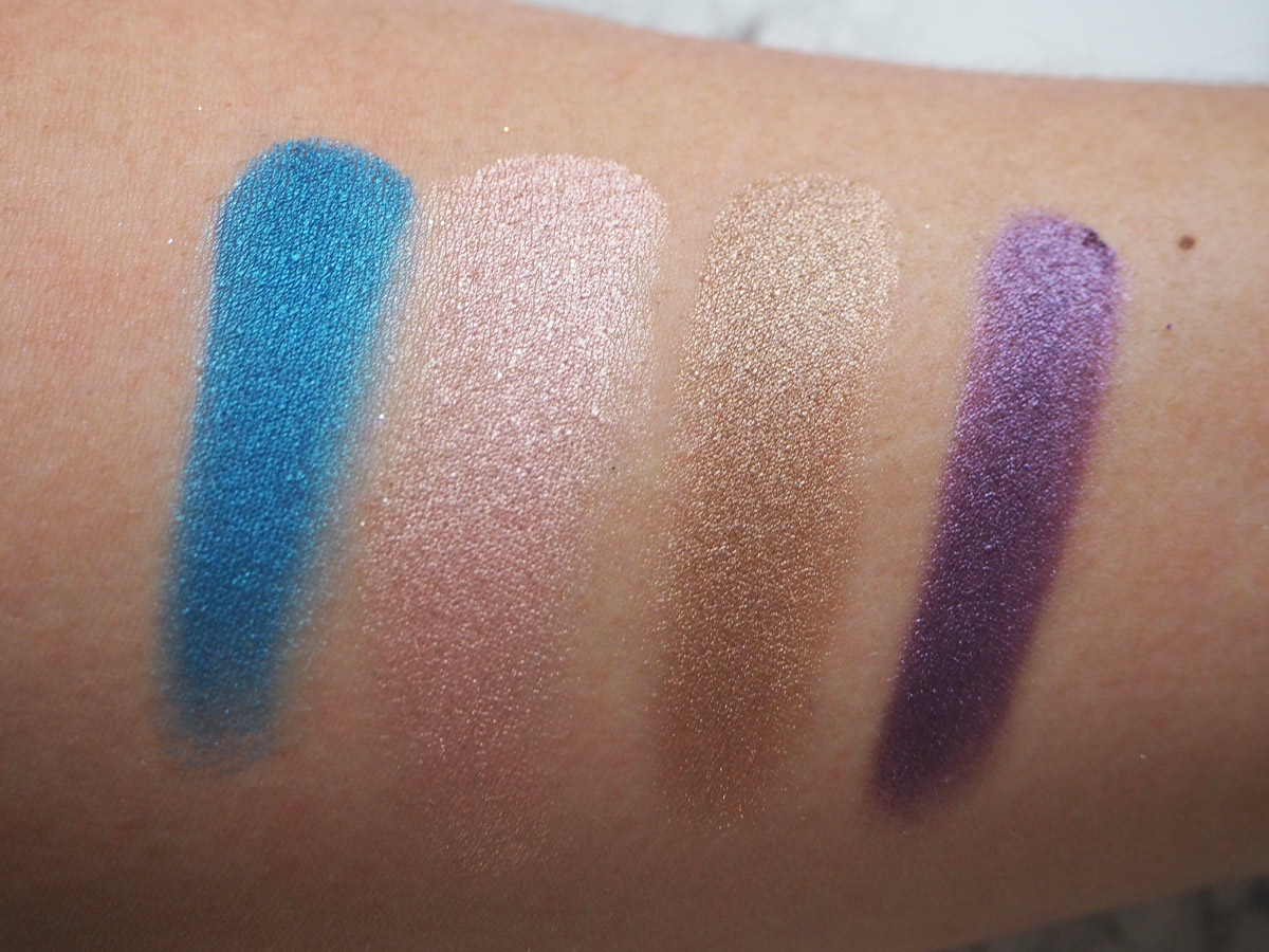 urban-decay-radium-snatch-suspect-psychedelic-sister-nyc-palette-swatches