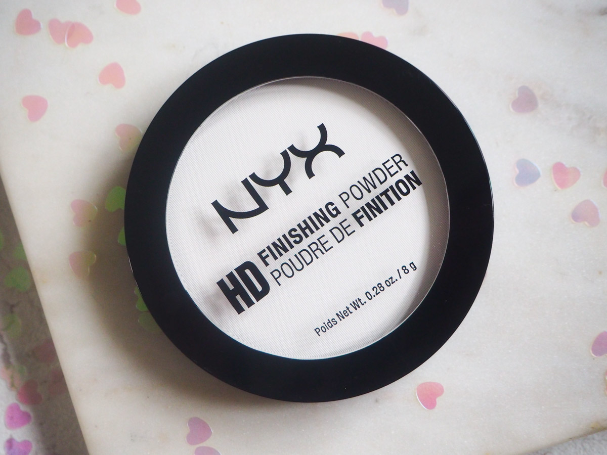 NYX HD Finishing Powder review