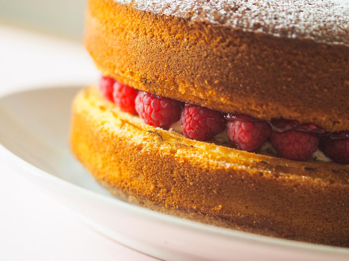 The World's Easiest Victoria Sponge Recipe