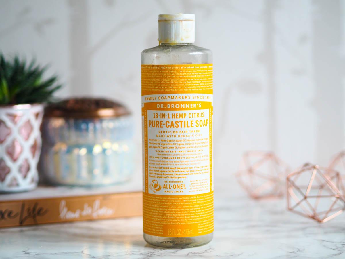 Magic Soaps Pure-Castile Liquid Soap Citrus Orange by dr bronners #19