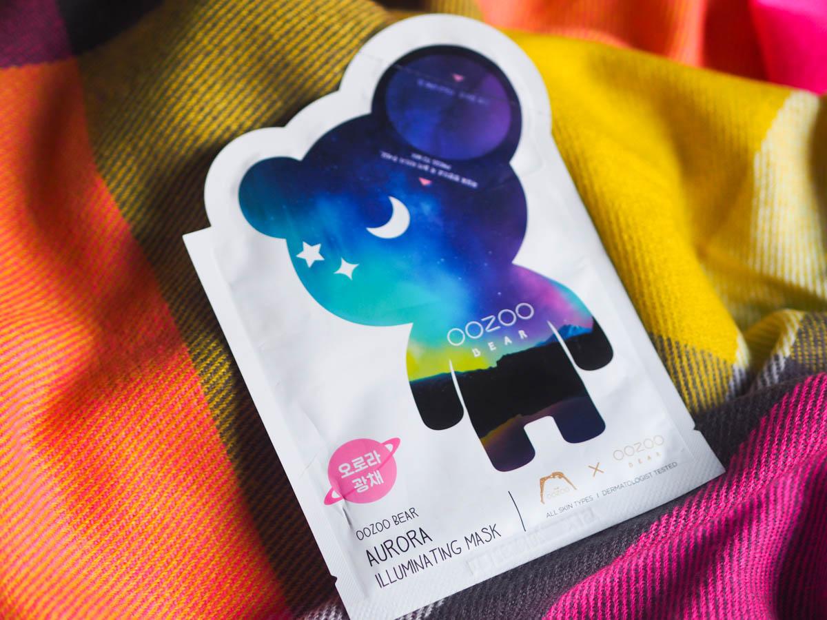 Oozoo Bear Aurora Sheet Mask