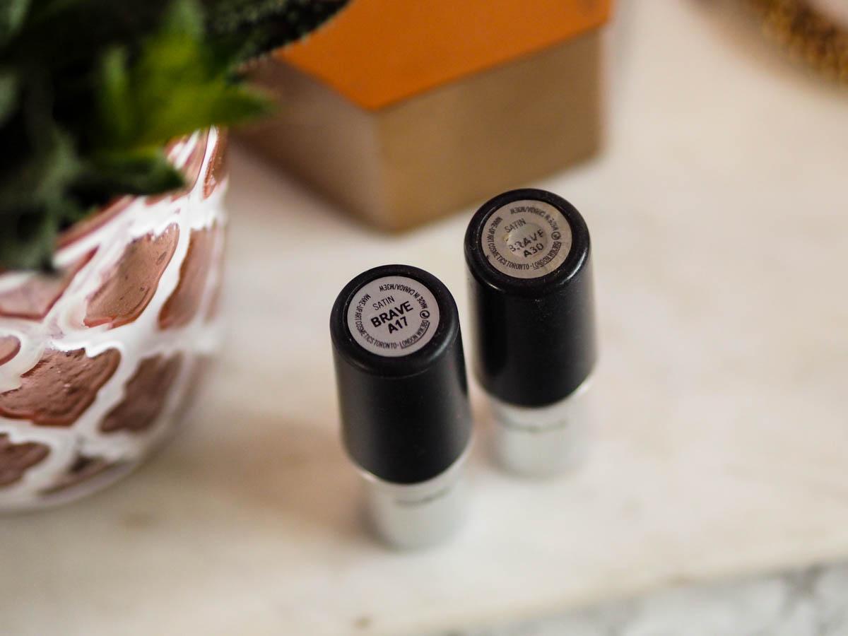 Mac Brave Lipstick Review