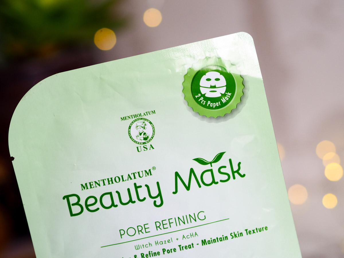 Mentolatum Pore Refining Beauty Mask