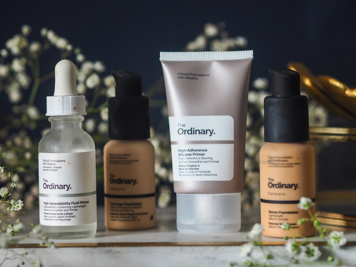 The Ordinary – Primers & Foundations on Oily Skin