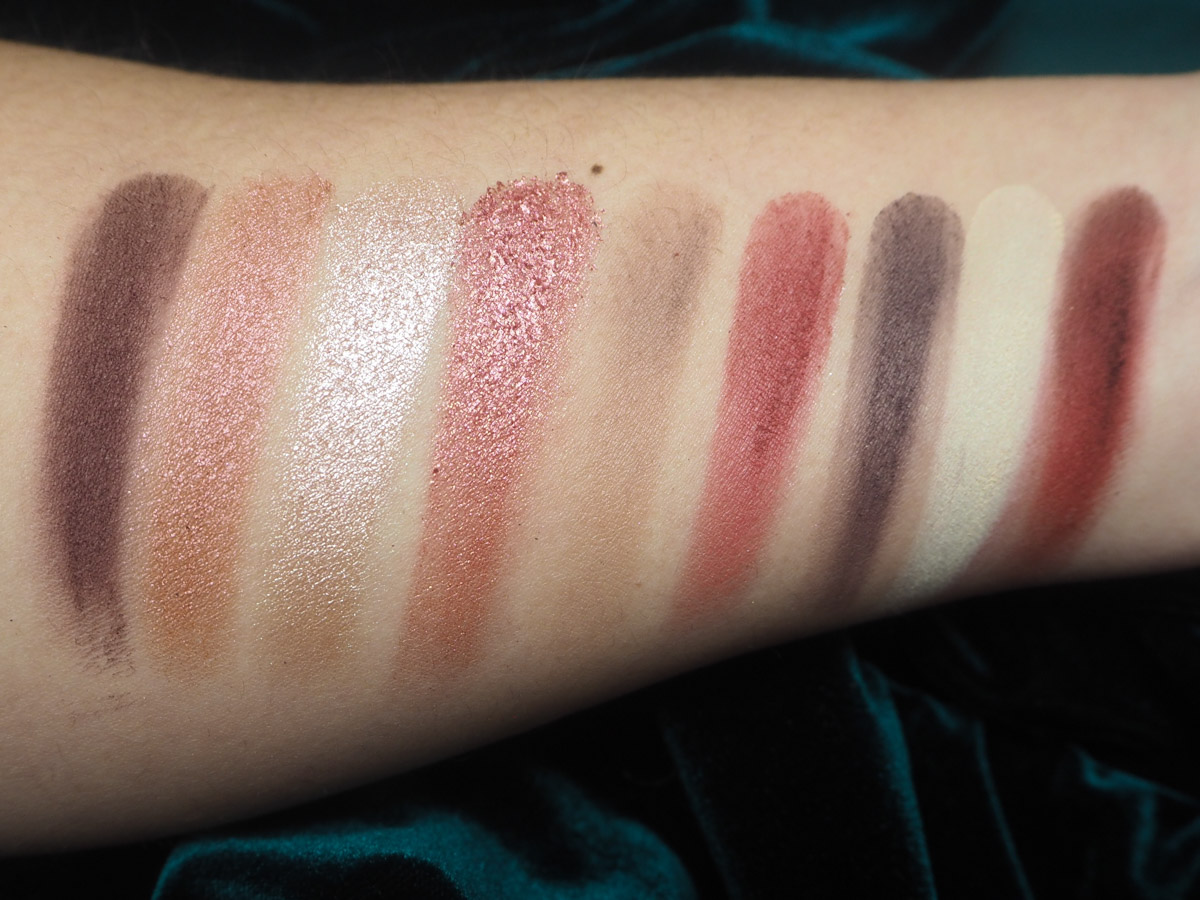 Huda Mauve Obsessions Swatches