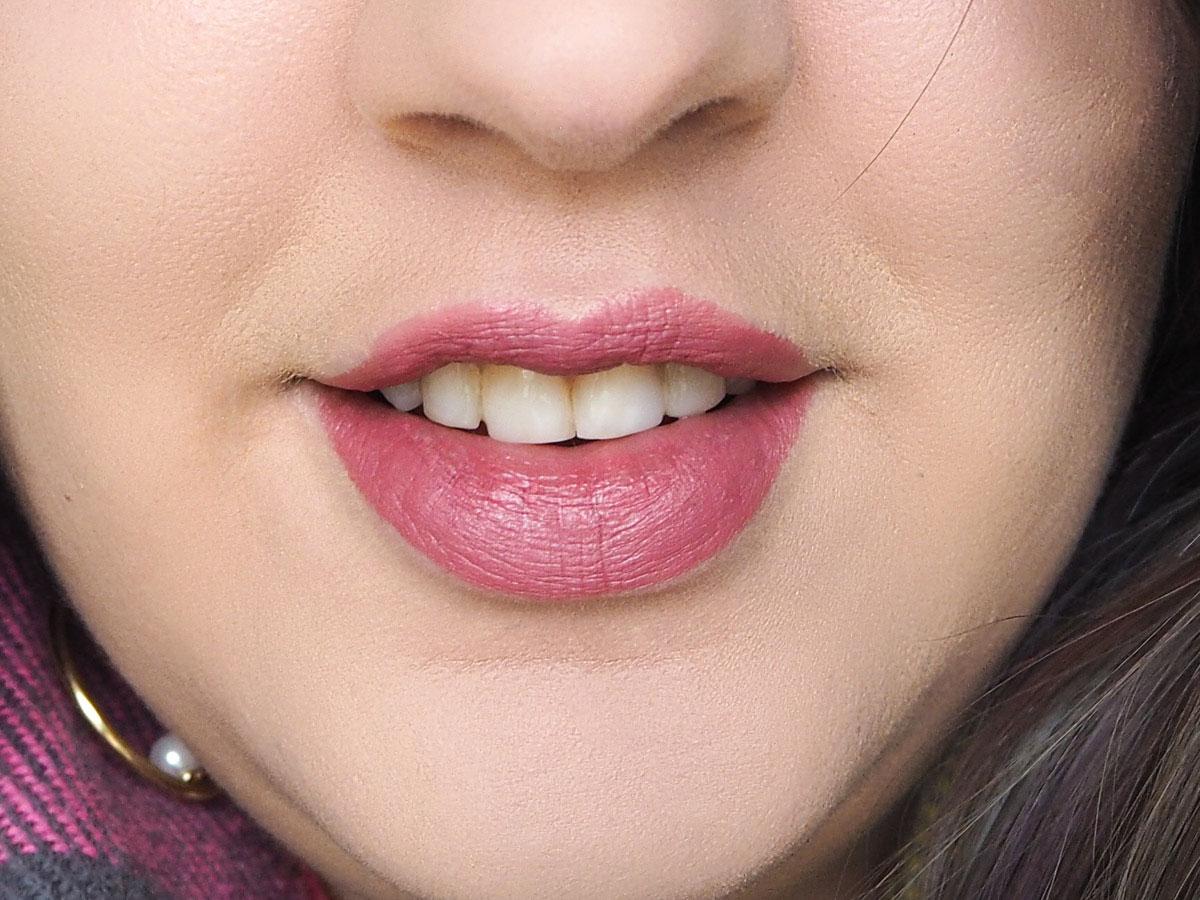 Mac Brave Lipstick Review -New