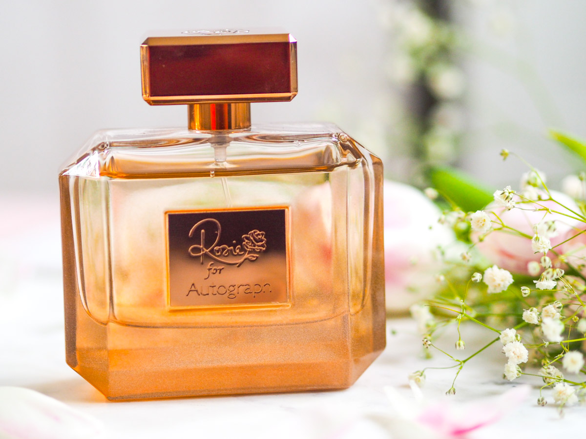 My Summer Scent : Rosie for Autograph Rose Gold Perfume