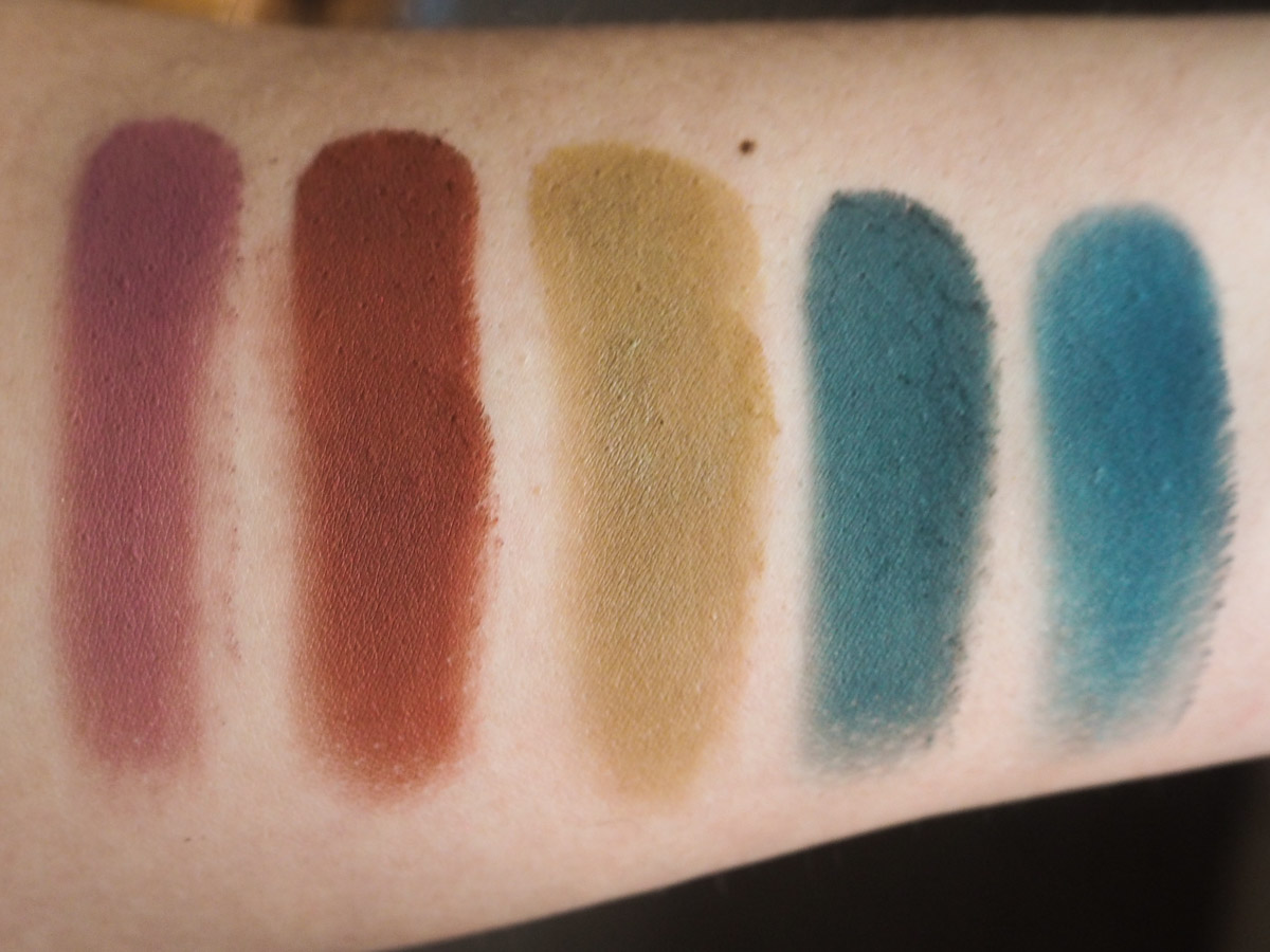 Jeffree Star Androgyny Eyeshadow Palette swatches