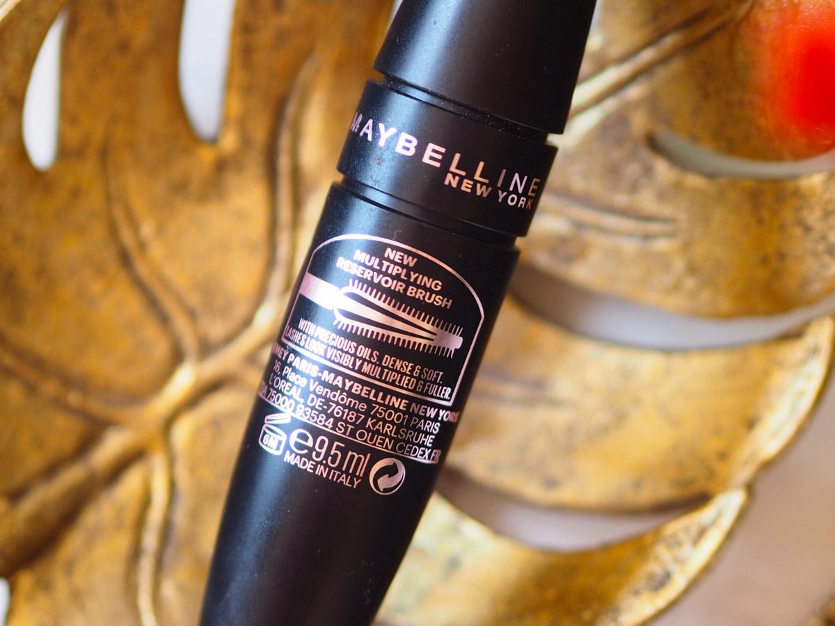 Maybelline Lash Sensational Luscious Mascara Packaging