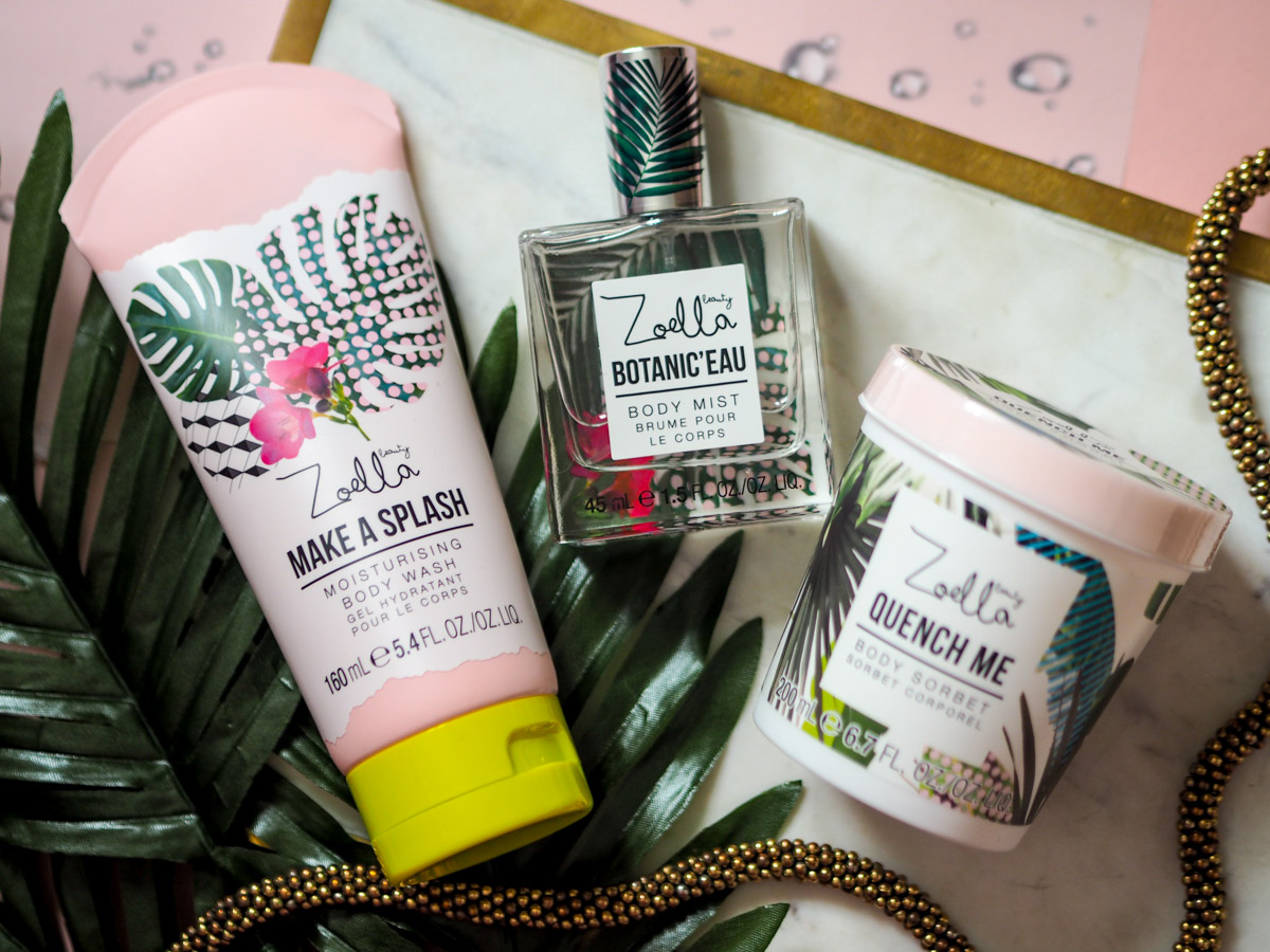 Zoella Splash Botanics Collection – First Impressions