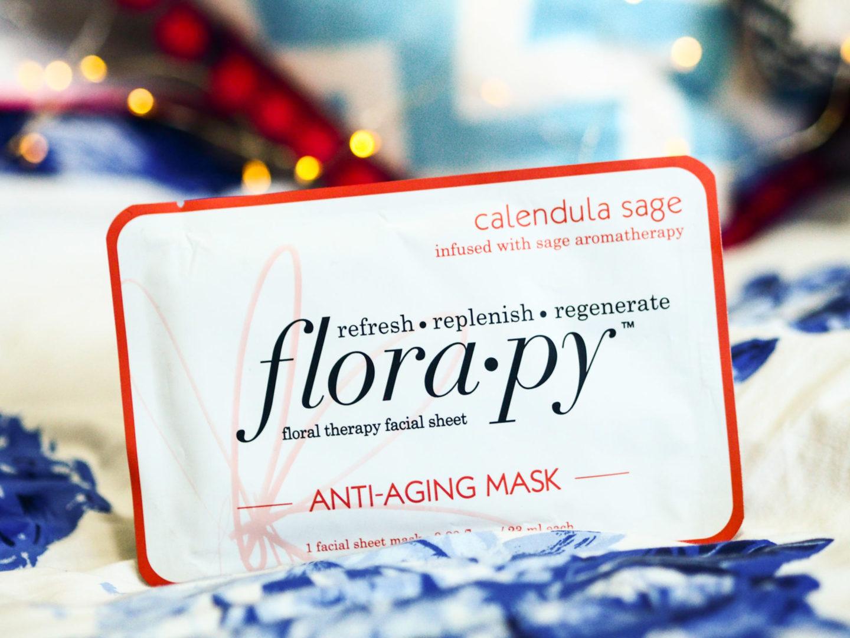 Face Mask Friday #62 – Florapy Calendula Sage Sheet Mask
