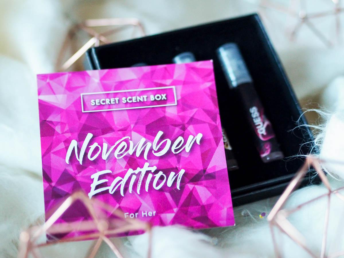 signature scent with Secret Scent Box