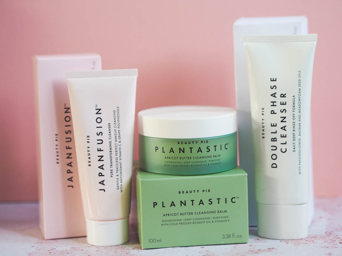 Three Cleansers from Beauty Pie Tested