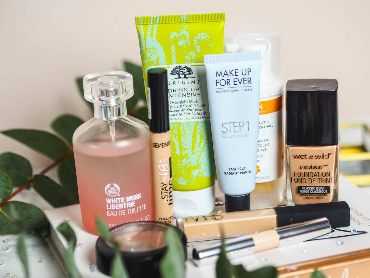 Products I'm Trying to Use Up – Winter 2019