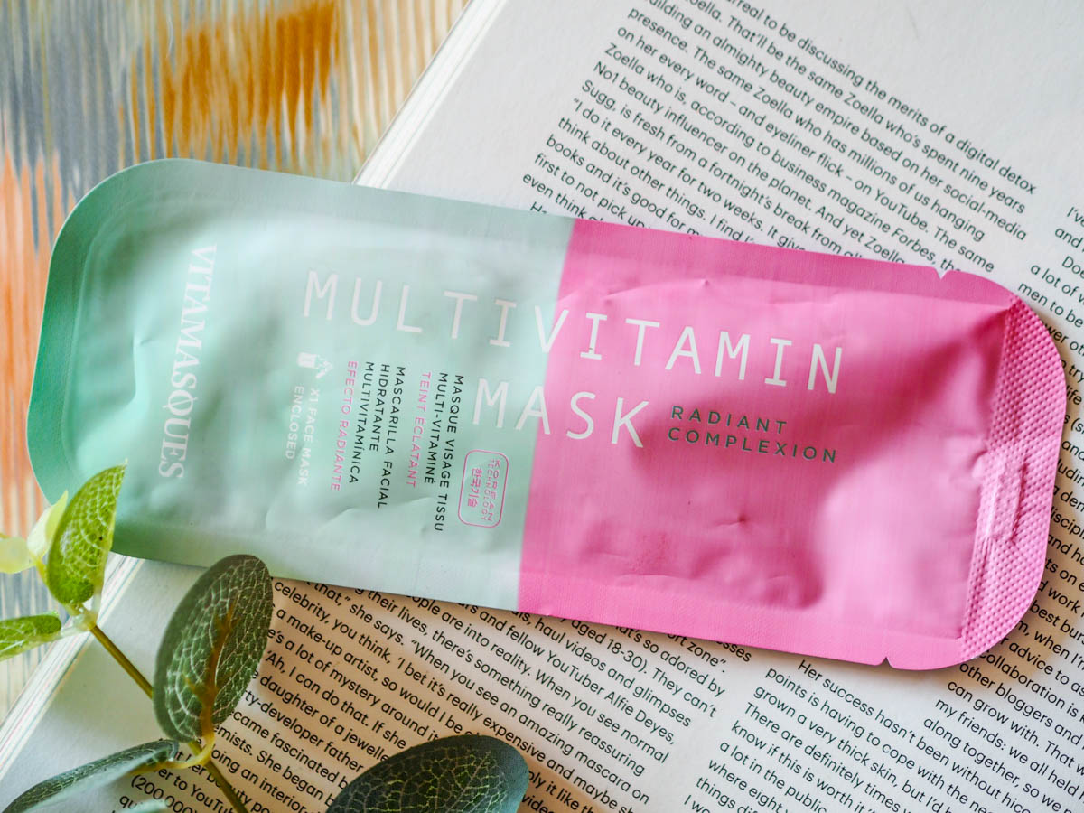 Face Mask Friday #67 – Vitamasques Multivitamin Sheet Mask