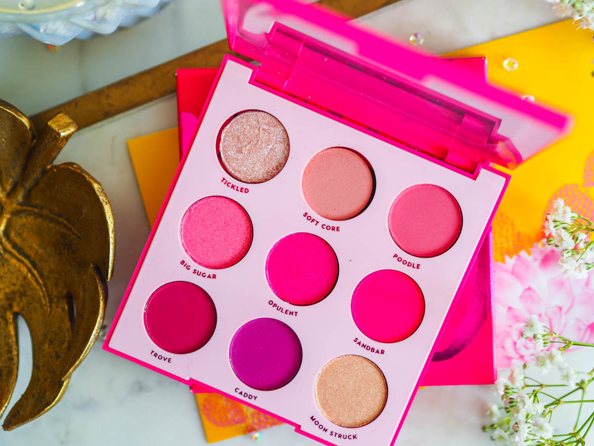 Colourpop Ooh La La Eyeshadow Palette – Review, Looks & Swatches