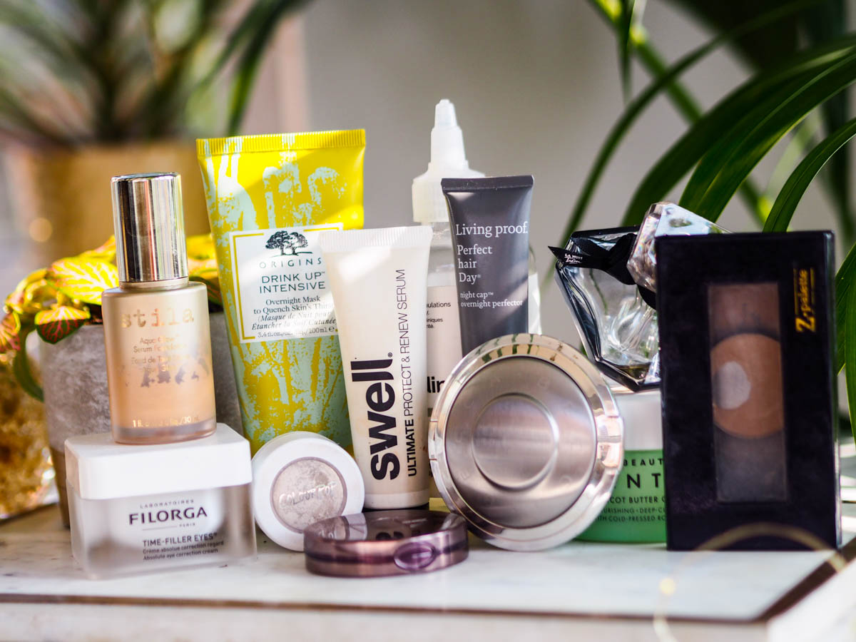 Products I'm Trying to Use Up – Spring 2019
