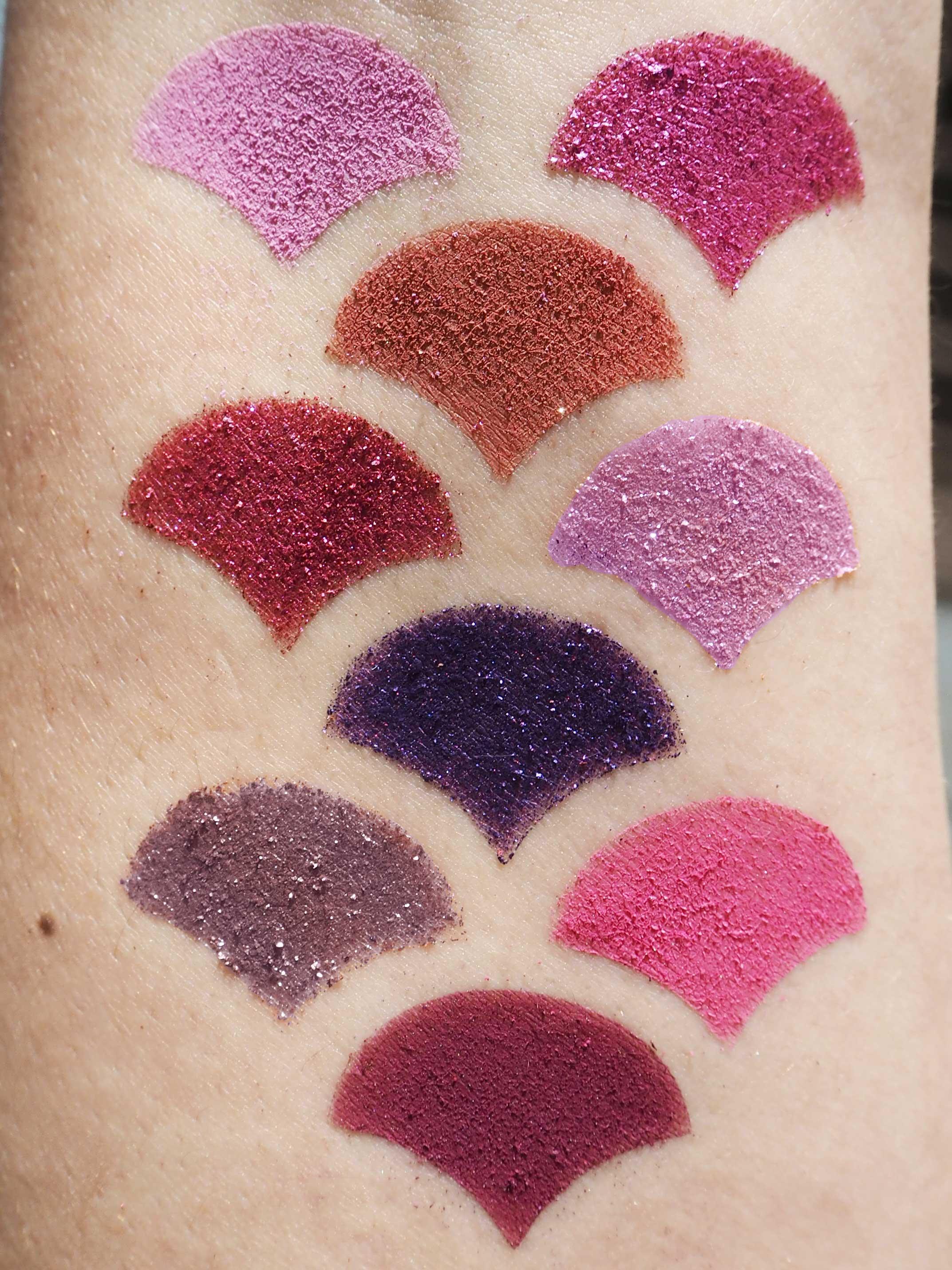 Colourpop It's My Pleasure palette swatches
