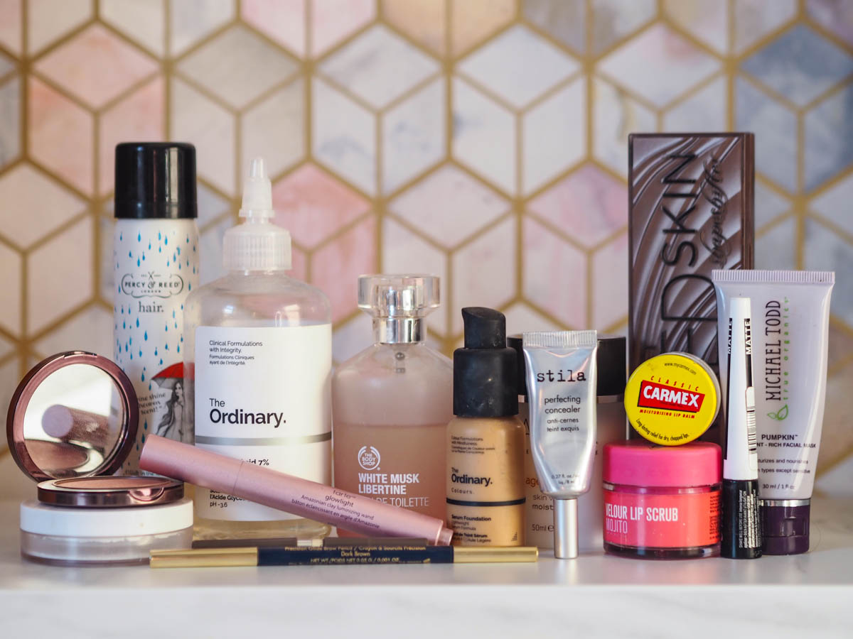 Products I'm Trying to Use Up – Summer 2019