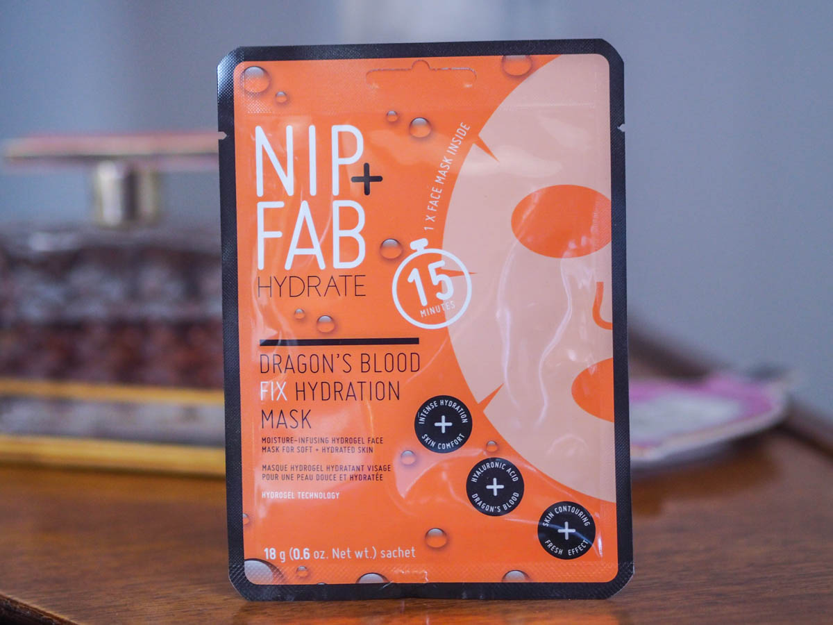 Face Mask Friday #68 – Nip & Fab Dragon's Blood Sheet Mask