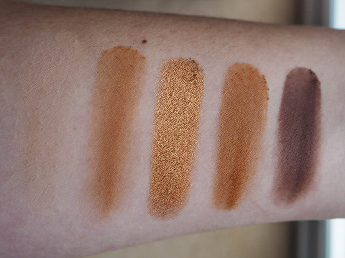 Violet Voss Perry Burst Eyeshadow Palette swatches