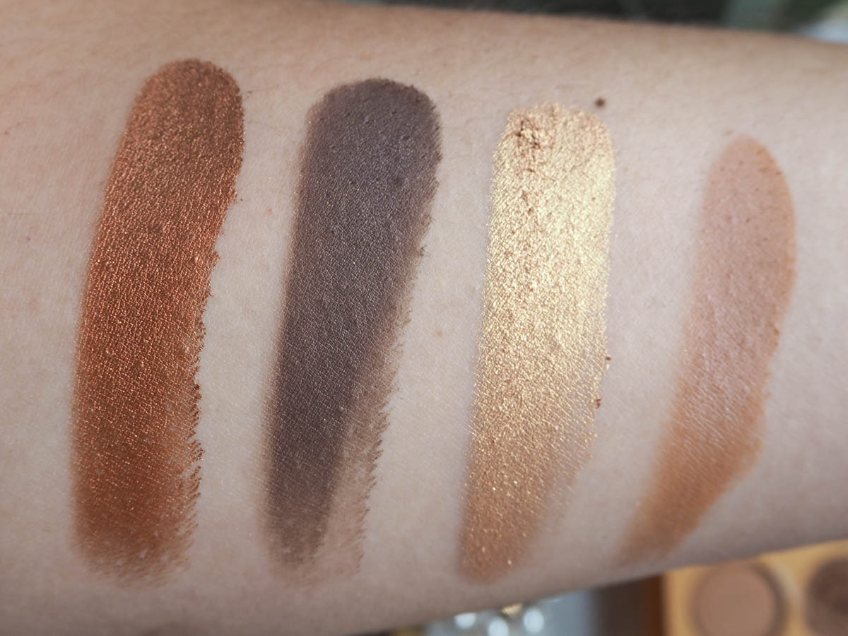 Colourpop California Love Palette Swatches - Row 3