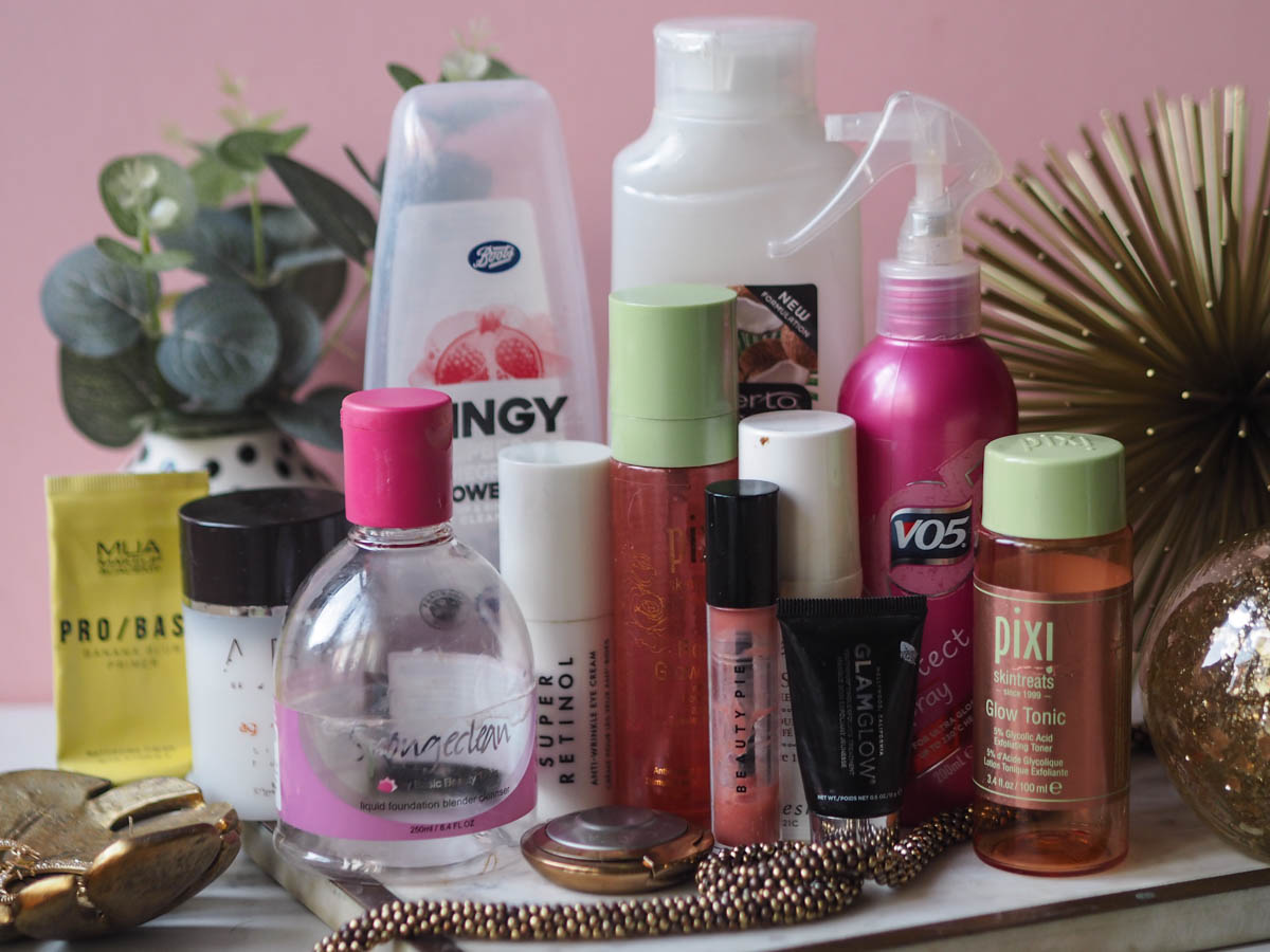 December 2020 Empties - Helpless Whilst Drying