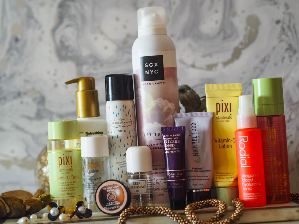 December 2019 Empties : Skincare & Haircare