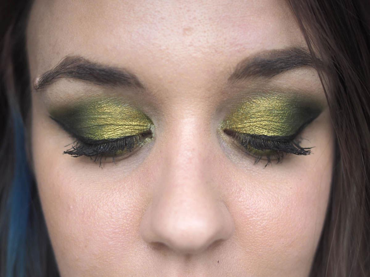 ELF Hot Jalapeno Eyeshadow - eye looks