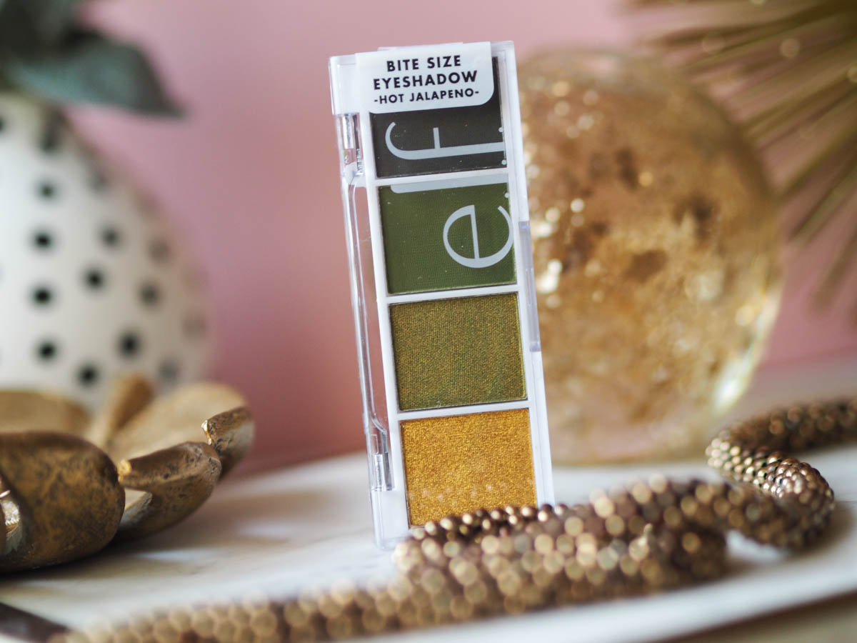 ELF Hot Jalapeno Eyeshadow palette review