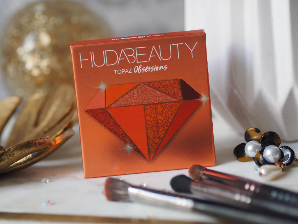 Huda Topaz Obsessions Palette – Swatch, Looks & Review