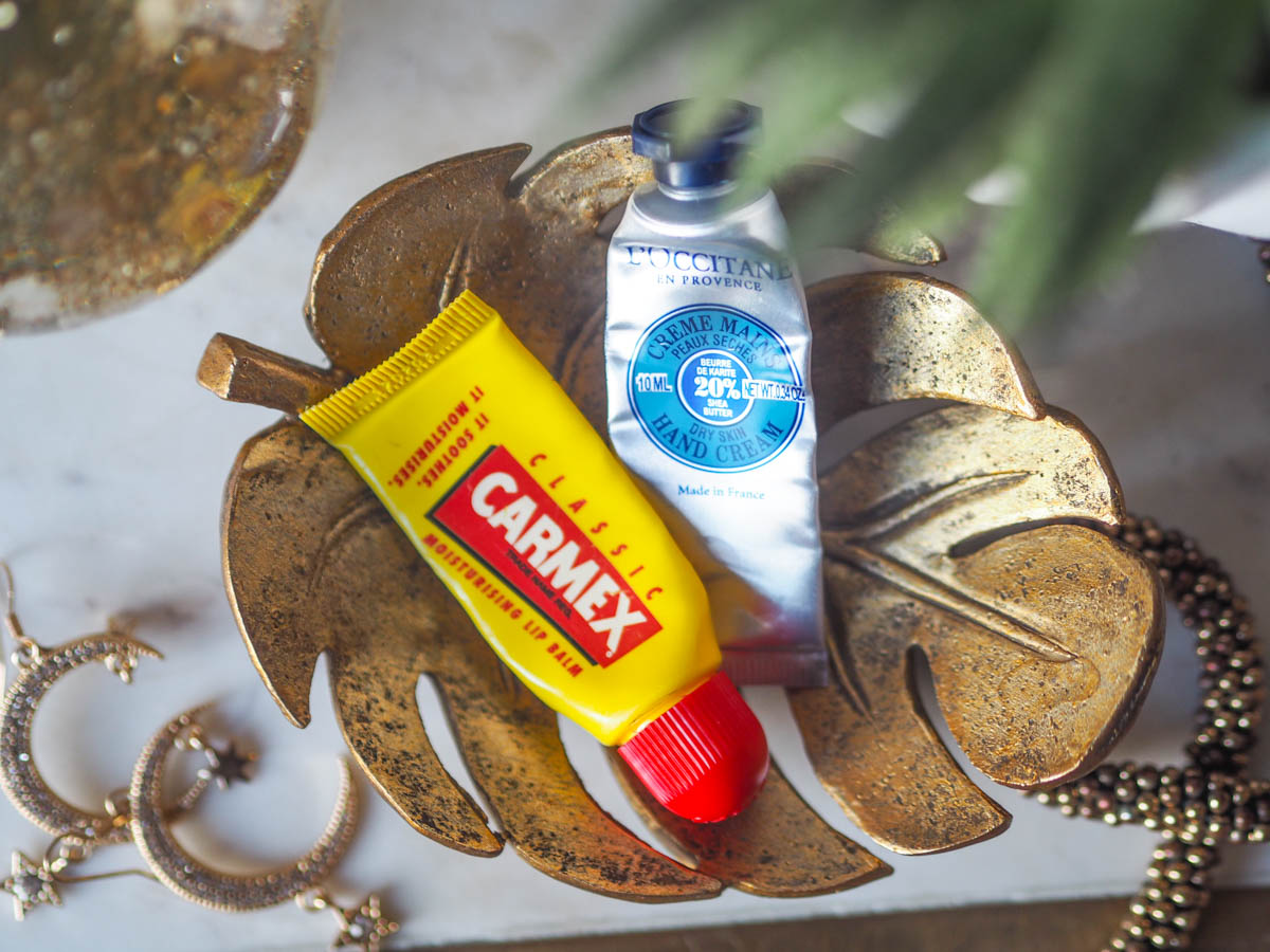 January 2020 Empties - Carmex and Hand Cream